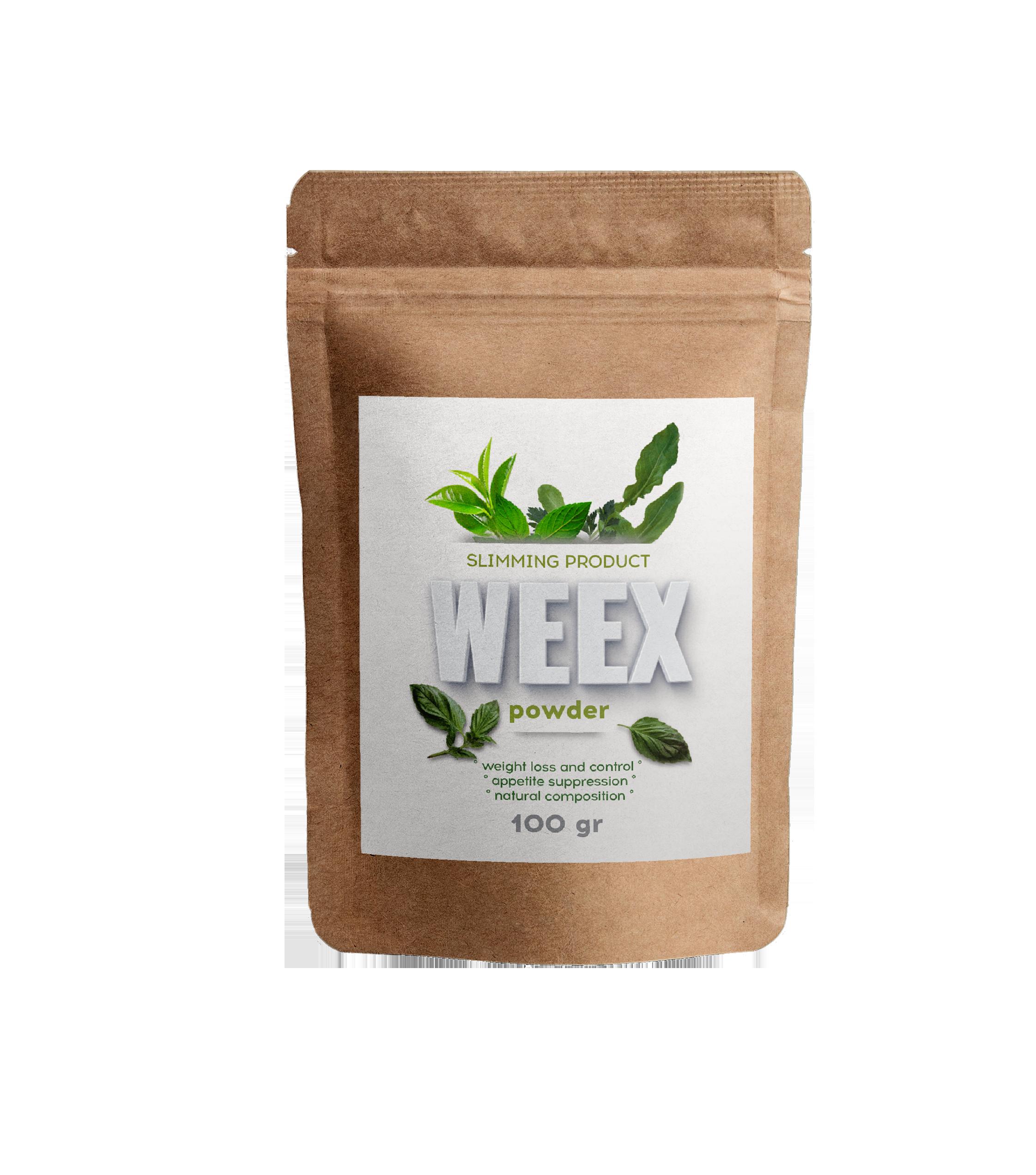 Vekttapsprodukt (Egypt) Weex-pulver